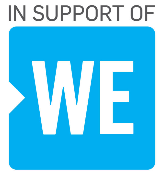 Image result for in support of we charity